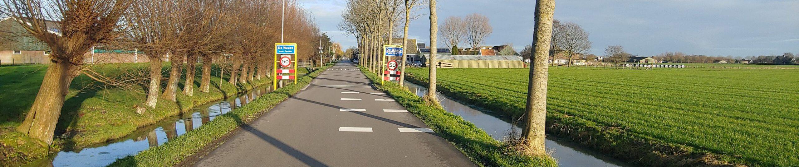 De Weere, Oosterboekel, Westzijde.